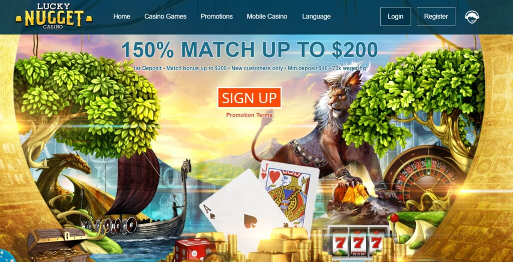 online casino Lucky Nugget