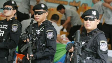 Thai police seize cars and 11 million baht from organizers of illegal gambling